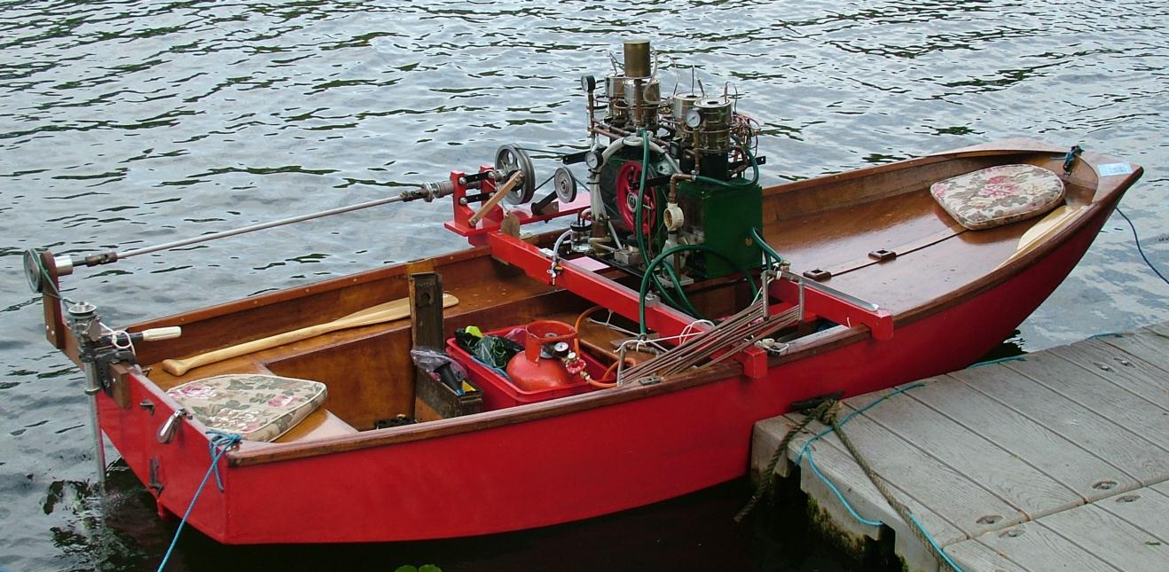 Experimental powered Mirror Dinghy | The New Mirror Dinghy Discussion Forum